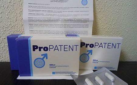 Инструкция по применению препарата Пропатент для потенции
