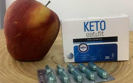 Средство Keto Eat&Fit на столе