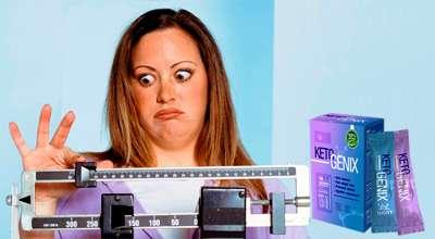 Препарат Keto Genix для похудения.
