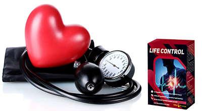 Лекарство LifeControl от гипертонии.